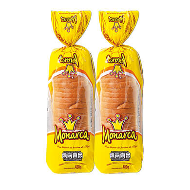 PAN SANDWICH BLANCO MONARCA 480GR