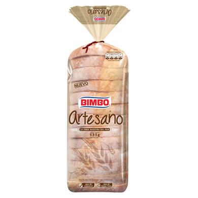 PAN BIMBO ARTESANO SANDWICH MED 535GR