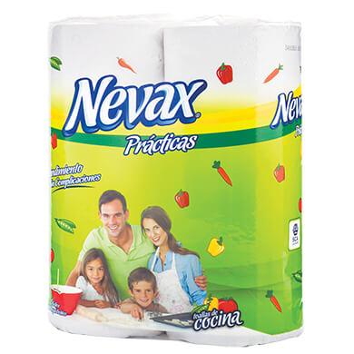 Toalla de cocina Nevax blanca 2 unidades