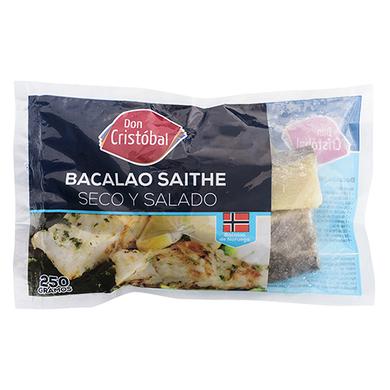 BACALAO SAITHE 250GRS