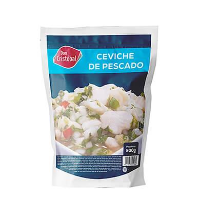 CEVICHE DE PESCADO 500 GR