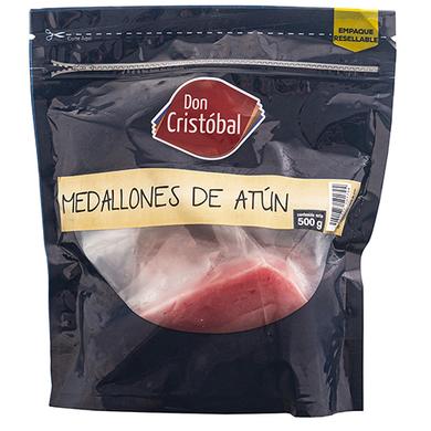 MEDALLONES DE ATUN 500 GR
