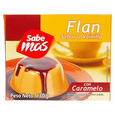 FLAN SABEMAS VAINILLA C CARAMELO 130 GR