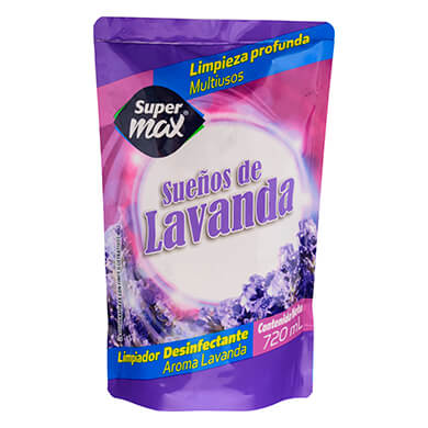 DESINFECTANTE SUPERMAX LAVANDA 720ML
