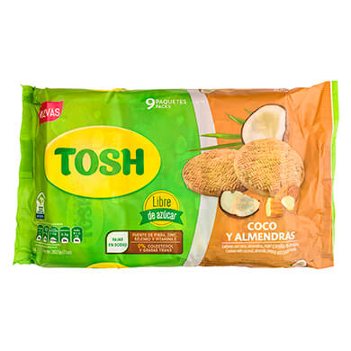 GALLET POZUELO TOSH COCO ALMENDR 202 5GR
