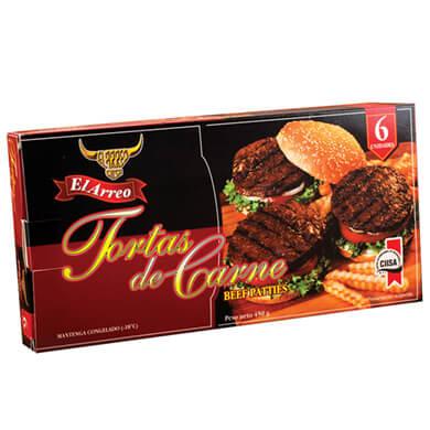 TORTA EL ARREO CONGELADO DE CARNE 450GR
