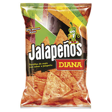 Tortillas Diana de maiz jalapenos 160 g
