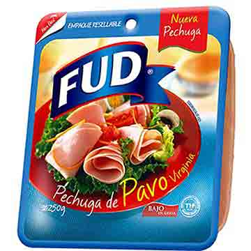JAMON FUD DE PECHUGA DE PAVO 250 GR