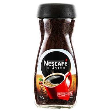 CAFE INSTANTANEO NESCAFE CLASICO 225GR