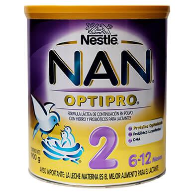 Formula infantil Nan paso 2 optipro 900 g