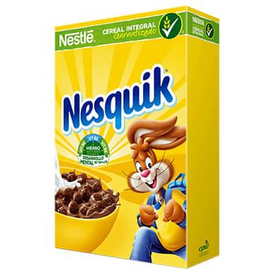 CEREAL NESQUIK CHOCOLATE 330 GR