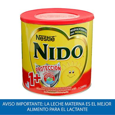 LECHE NIDO POLVO 1 MAS PROTEINAS BOTE 2200GR