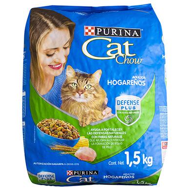 COMIDA CAT CHOW DE GATO HOGARENO 1500GR
