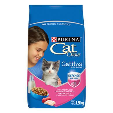 ALIM CAT CHOW GATO PURINA GATITOS 1500GR