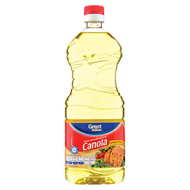 Aceite Great Value canola puro 946 ml