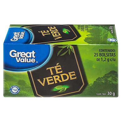 TE VERDE GREAT VALUE 30 GR