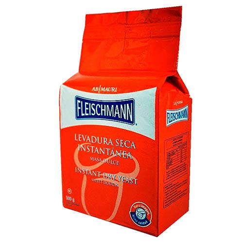 Levadura dulce instantanea Fleischmann 500 g