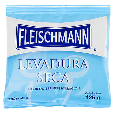 LEVADURA SECA FLEISCHMAN BOLSA 125 GR