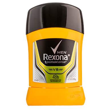 Desodorante Rexona barra men v8 50 g