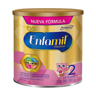 FORMULA INFANTIL ENFAMIL 2 800GR