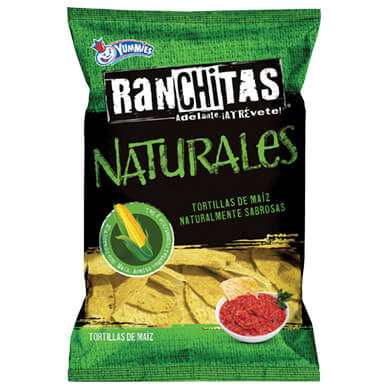 Boquitas Yummies Ranchitas natural 300 g