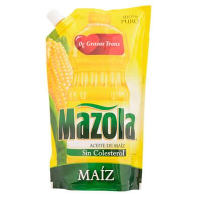 ACEITE DE MAIZ MAZOLA  DOY PACK 750 ML