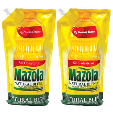ACEITE MAZOLA PLUS 2PACK 1600 ML