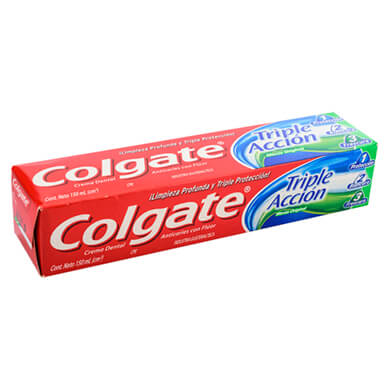 Crema dental Colgate triple accion 150 ml
