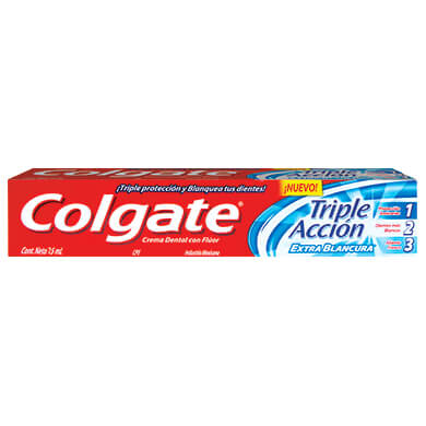 CREMA DENTAL COLGATE TRIPLE ACCION 75 ML