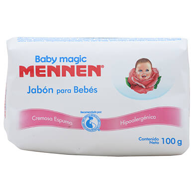 Jabon Mennen baby magic 100 g