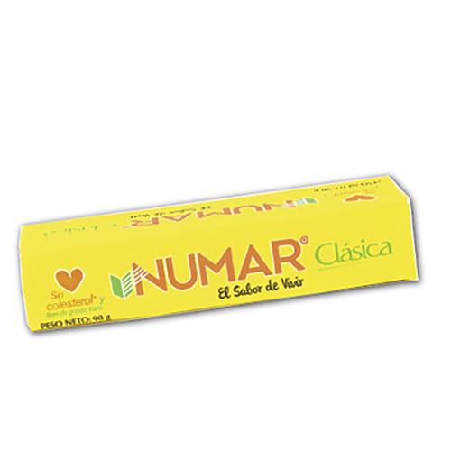 Margarina Numar troquelada barra 90 g