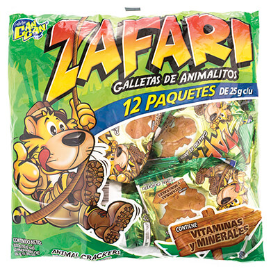 Galleta Can Can Zafari 300 g