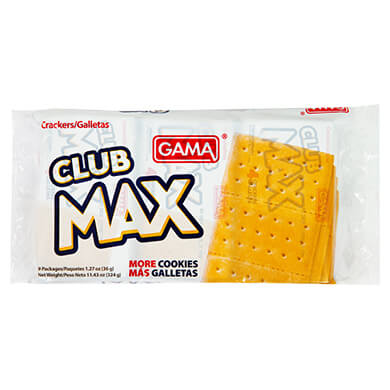 GALLETA GAMA SALADA CLUB MAX 324 GR
