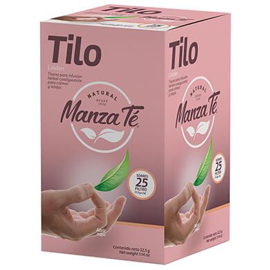Te de tilo manzanilla 25 sobres 32 5 g