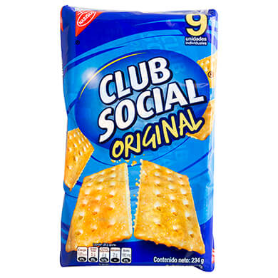 GALLETA NABISCO CLUB SOCIAL SALADA 234GR