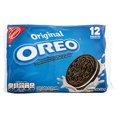 Galleta Nabisco Oreo regular 432 g