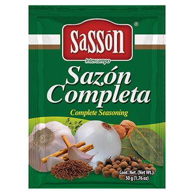 SASON SASSON COMPLETA SOBRE 50GR