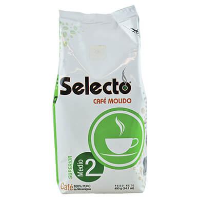 Cafe molido Selecto superior 400 g