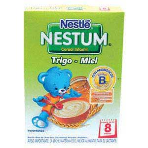 Cereal infantil Nestum trigo miel 200 g