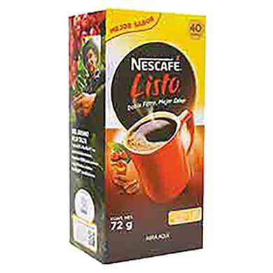 CAFE NESCAFE LISTO 72 GR