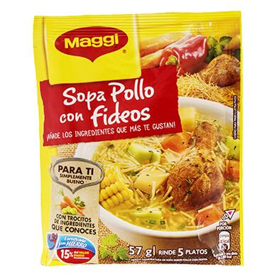 SOPA DE POLLO MAGGI FIDEOS 57 GR