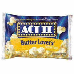 BUTTER ACT II LOVERS 78 GR