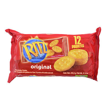 Galleta Nabisco Ritz 268.8 g