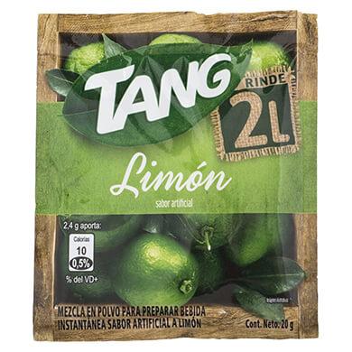 Bebida en polvo Tang limon 20 g