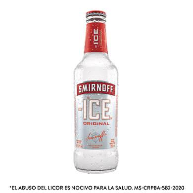 Bebida alcoholica Smirnoff red botella 355 ml