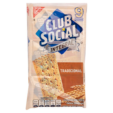 Galleta integral Nabisco Club Social 234 g