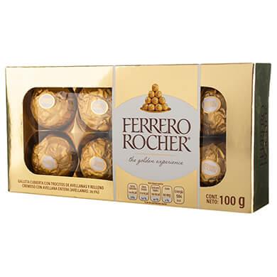 CHOCOLATE FERRER ROCHER GOND 100GR