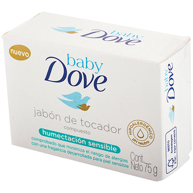 JABON DOVE BABY HUMECTANTE SENSIBLE 75GR