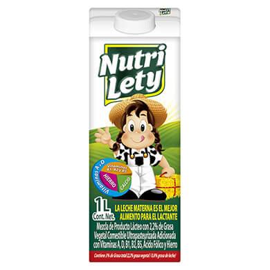 Bebida lactea Nutri Lety 1000 ml