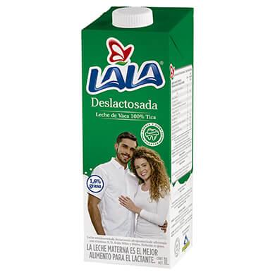 Leche Lala uht deslactosada 1000 ml